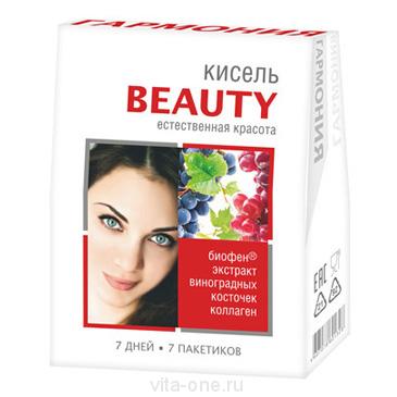 Кисель витаминизированный с Биофеном Гармония Beauty в пакетиках 140 гр
